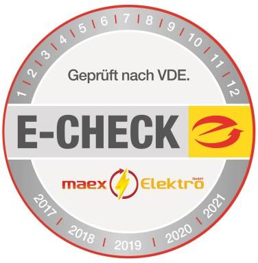 maex Elektro GmbH - E-Check