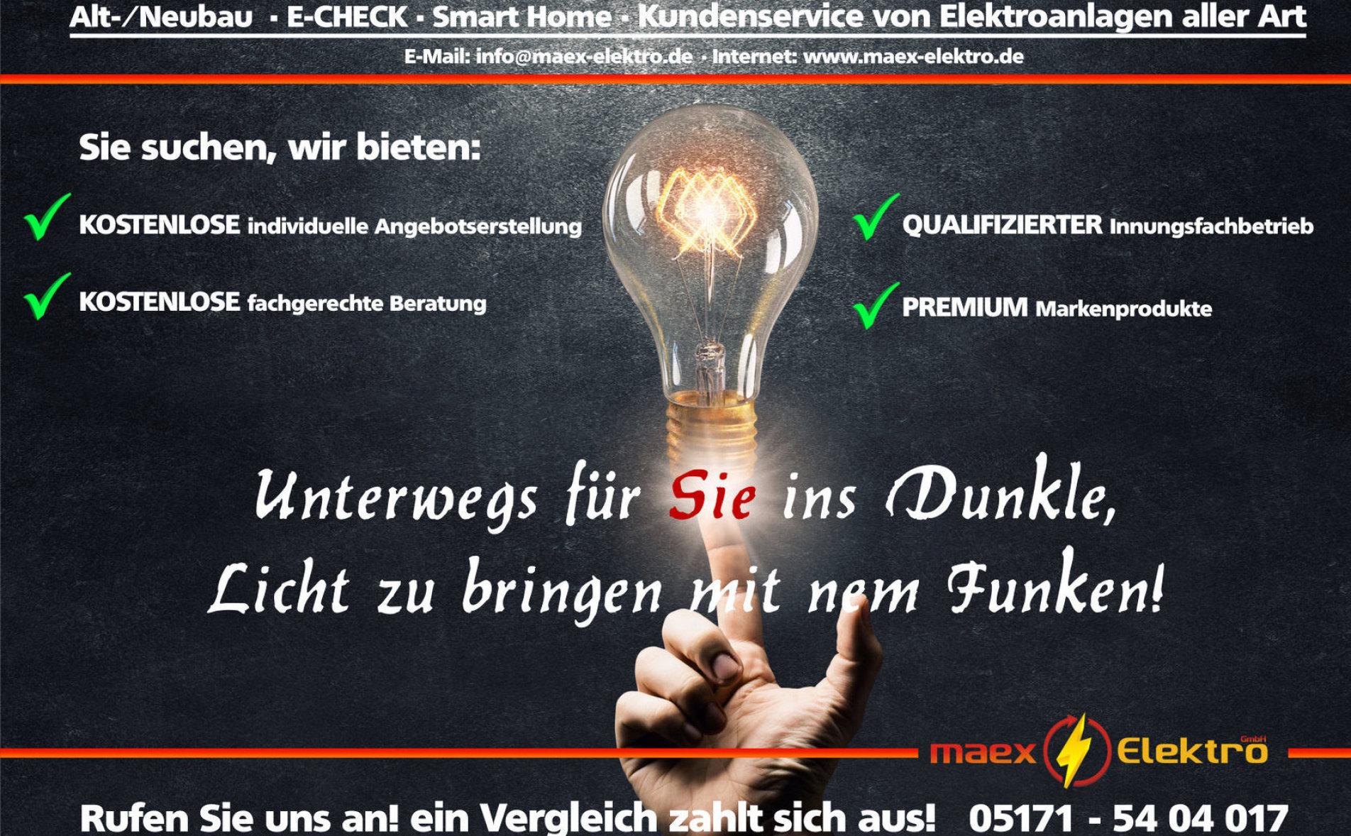 maex Elektro GmbH - Elektrotechnik